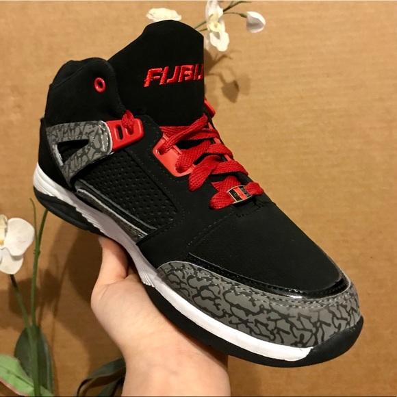 FUBU Shoes | Blackred Grey Cement